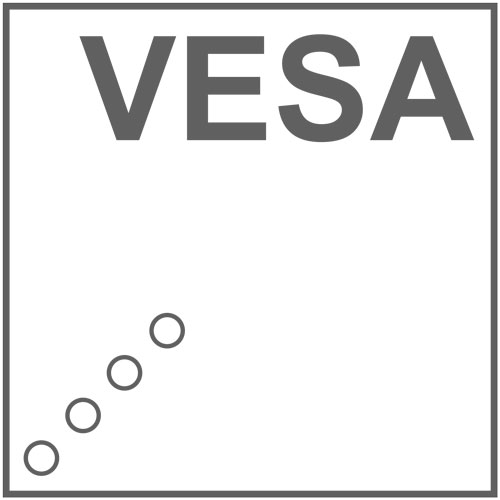 Vesa-Mast-Halterung für die UHF-Systeme